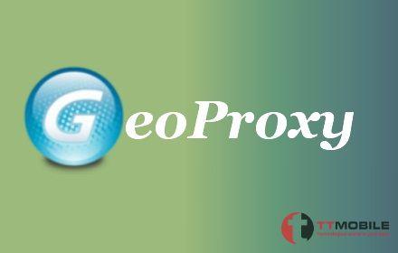 Banner giới thiệu của ứng dụng GeoProxy
