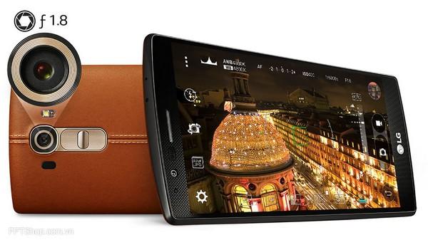 Điện thoại LG G4 có camera tuyệt vời hơn Xperia Z4