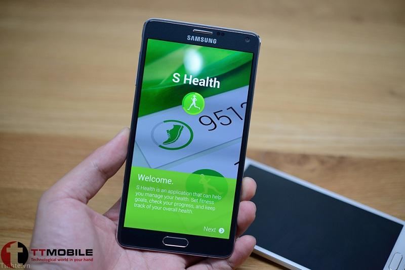 Samsung rất quan tâmđến người dùng khi hỗ trợ nhiều tính năng giúp bảo vê sức khỏe