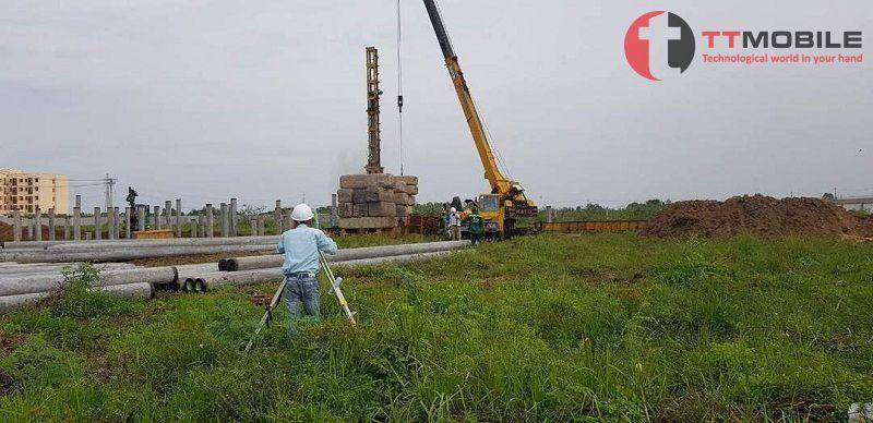 Trong xây dựng với quy mô lớn thường dùng đơn vị đo lường là hecta để tính toán diện tích