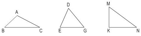 Các hình tam giác cơ bản